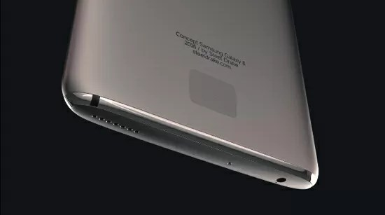 Galaxy S8/S8 edgeのデザイン予想