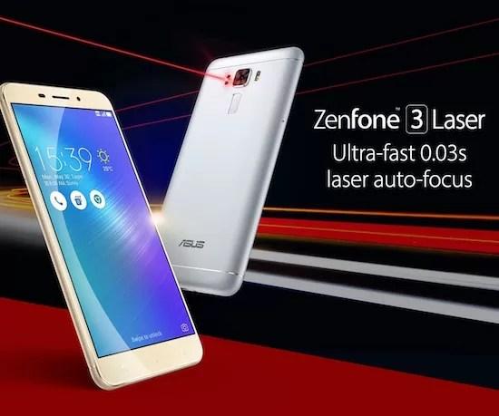 待望のZenfone3 LaserがBIGLOBEとUQ mobileから発売!BIGLOBEは25日、UQ mobileは26日から