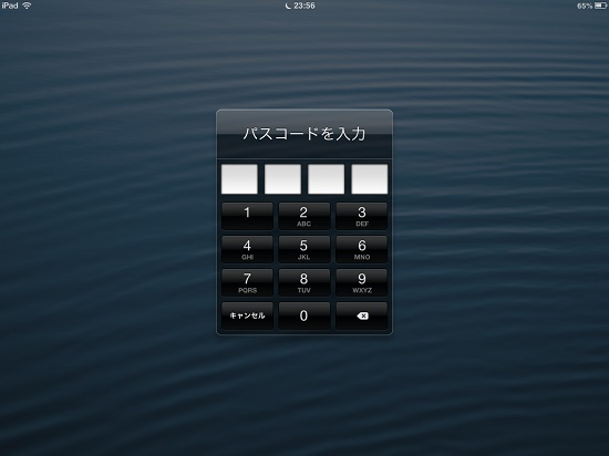 iPad mini passcode lock09
