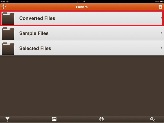 iFiles Converter04