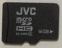 JVC 16GB Class6