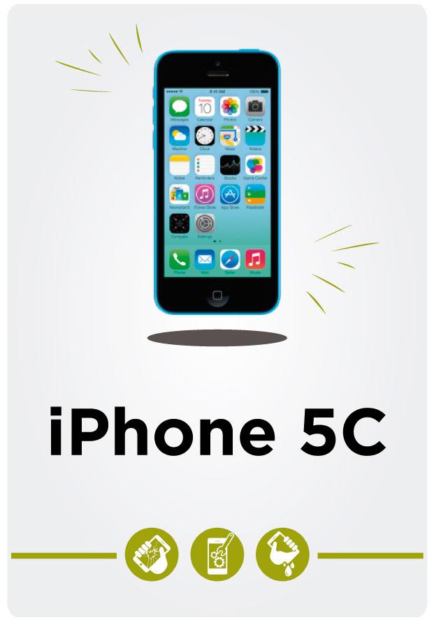 Reparación de iPhone 5c