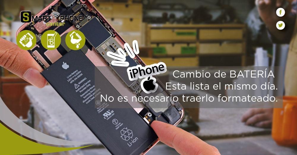 Cambio de batería de iPhone