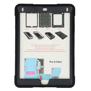 iPad Air 2 zwarte Shockproof Case voor