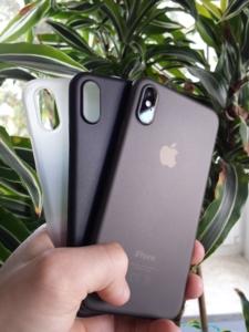 iPhone XS Hülle Test Ultra slim