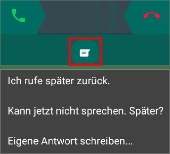 WhatsApp-Tipp: Einen Anruf mit Infotext abweisen