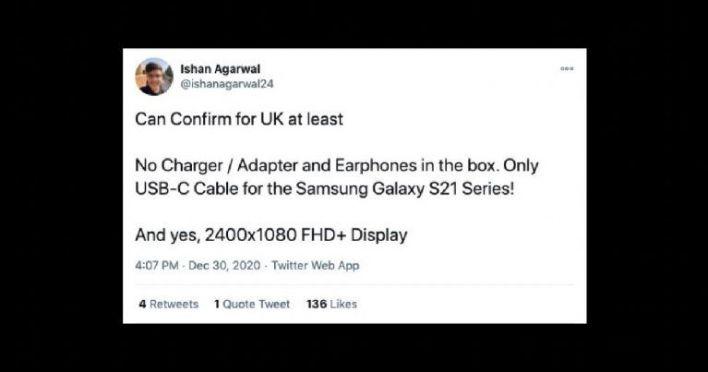 Samsung Galaxy S21 kein Ladegerät Kopfhörer