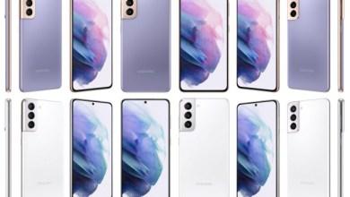 Samsung Galaxy S21 alle Farben