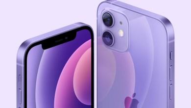 Apple iPhone 12 lila