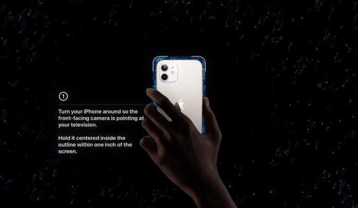 Apple TV iPhone kalibrieren