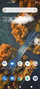 Vivo X51 5G Homescreen