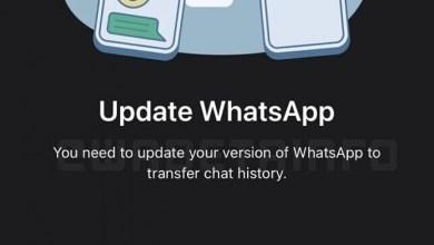 WhatsApp Cross Plattform Migration