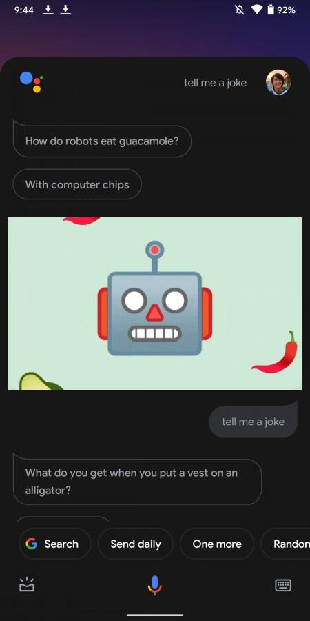 Google Assistant altes Design