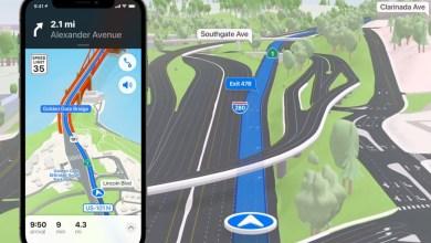 iOS 15 Apple Maps