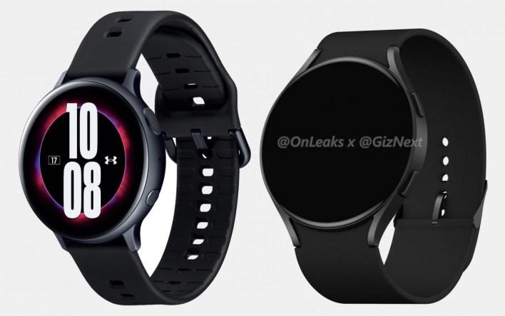 Samsung Galaxy Watch Active4 Rendering