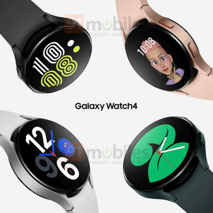 Samsung Galaxy Watch4 Rendering