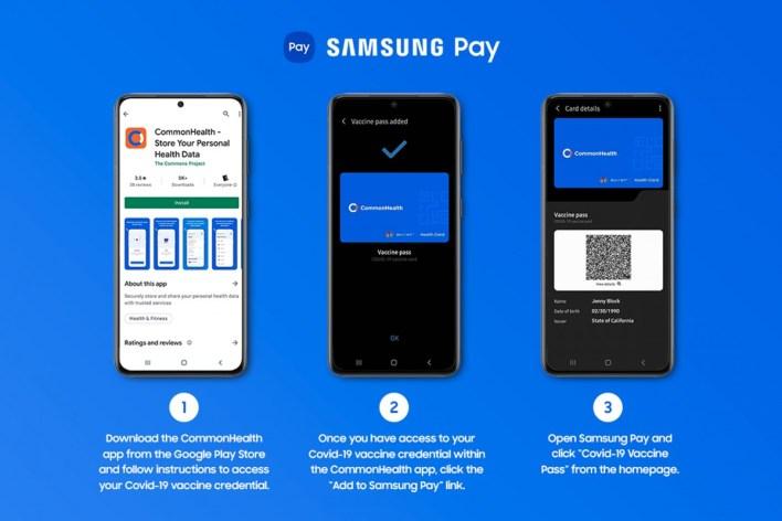 Samsung Pay Wallet Impfpass
