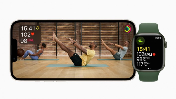 Apple Fitness+ Pilates