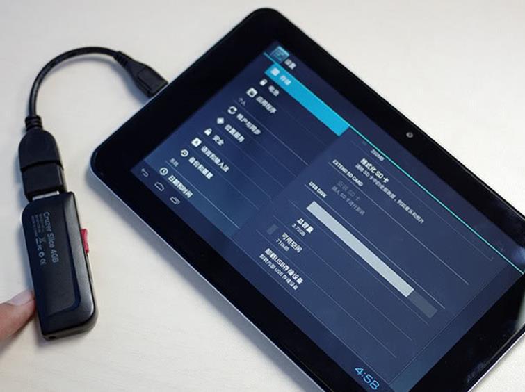 3G modemini tablete bağlayın