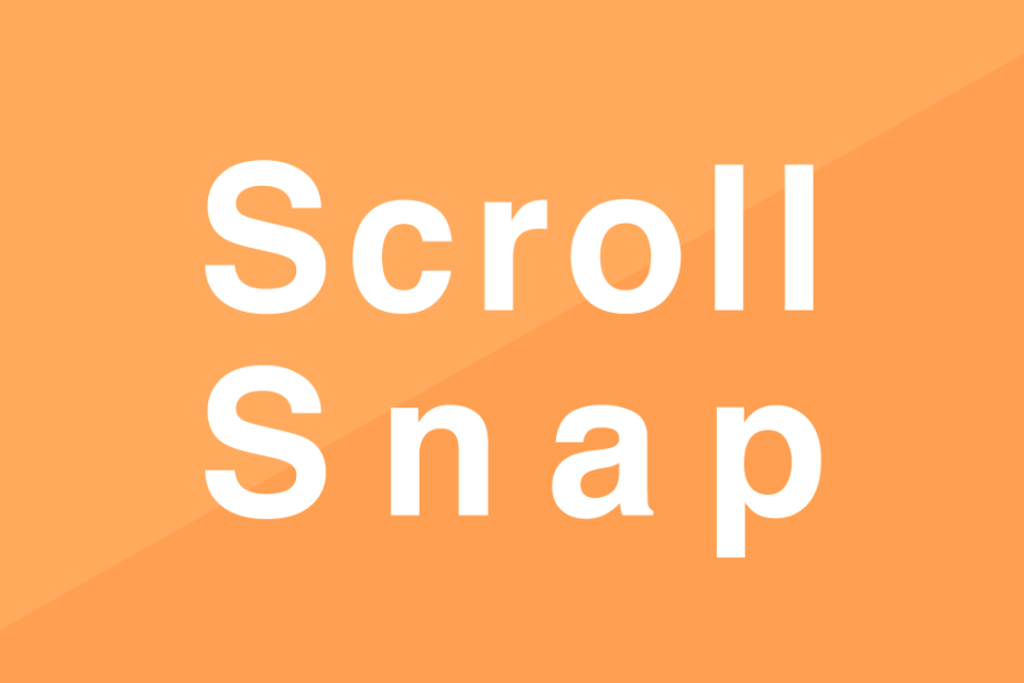scroll-snap