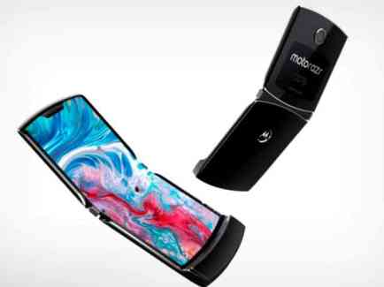 Moto RAZR foldable phone