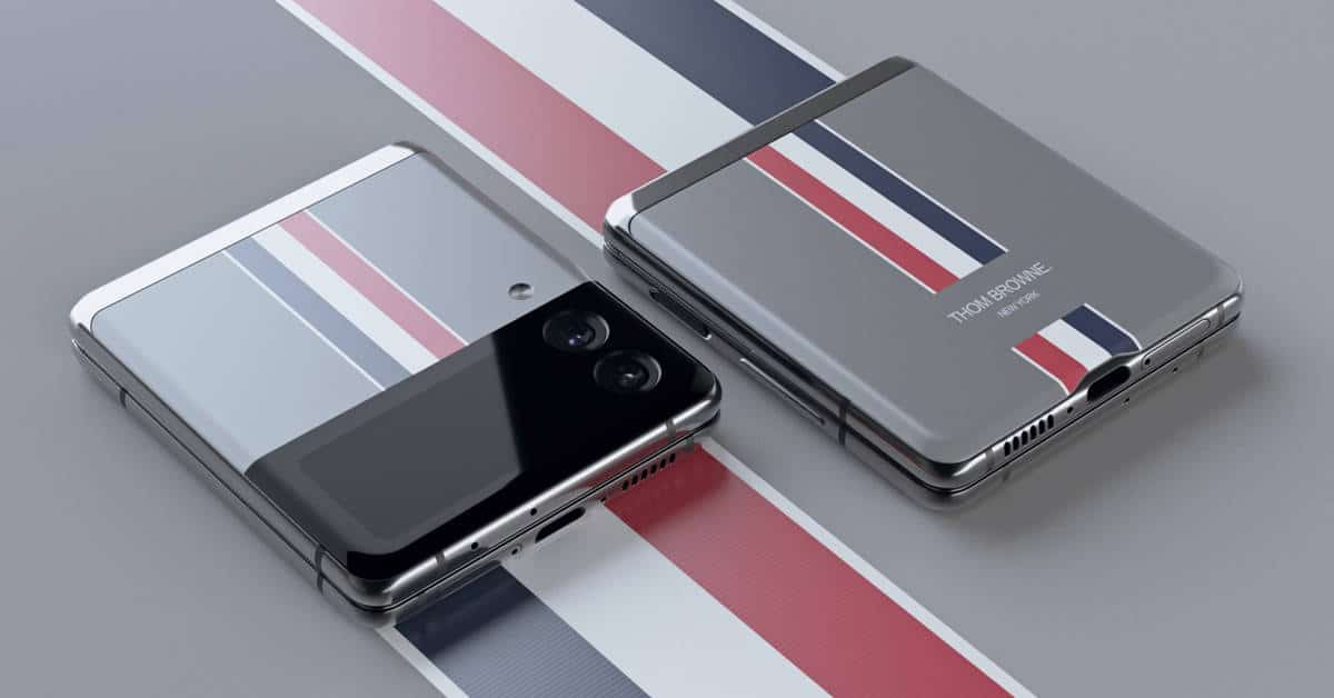 Samsung Galaxy Z Flip 3 Thom Browne release date and price