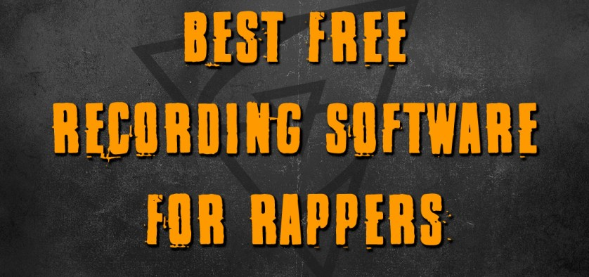 best free recording software for rappers