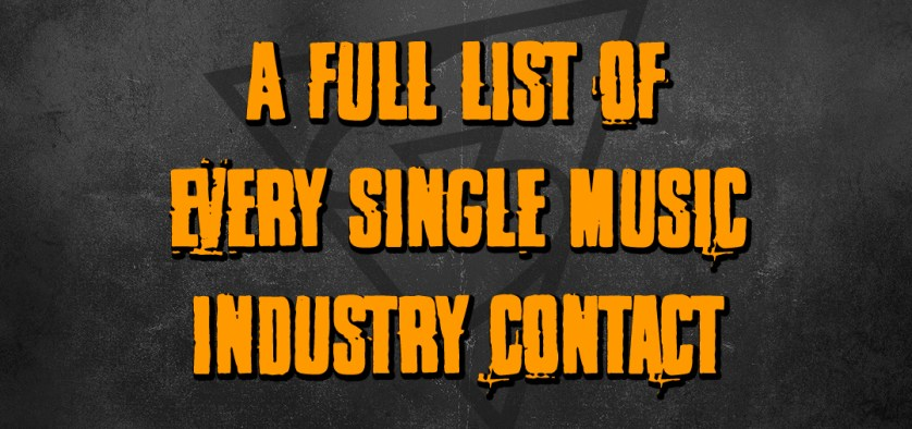 music industry contacts