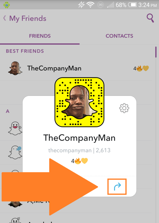 How To Suggest On SnapChat 2