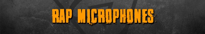 rap microphones for recording rap songs