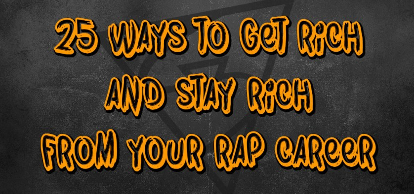 get rich rapping