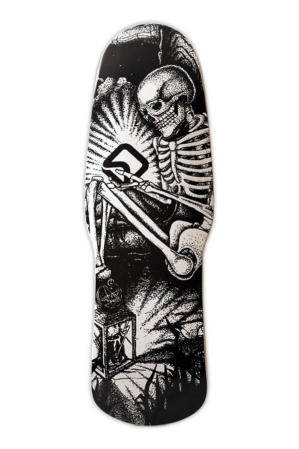Screen Death Skateboard