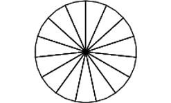 Задача 8 (№ 3832) - Колесо имеет 15 спиц