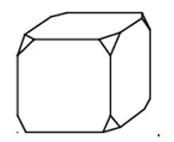 Задача 13 (№ 5559) - От деревянного кубика отпилили все его вершины