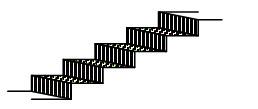 Лестница, Ступени лестницы, Ступени лестницы покрасили
