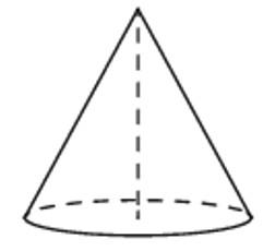 Конус, Объем, высота, радиус