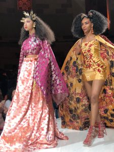 Camille Rose Naturals Texture On The Runway