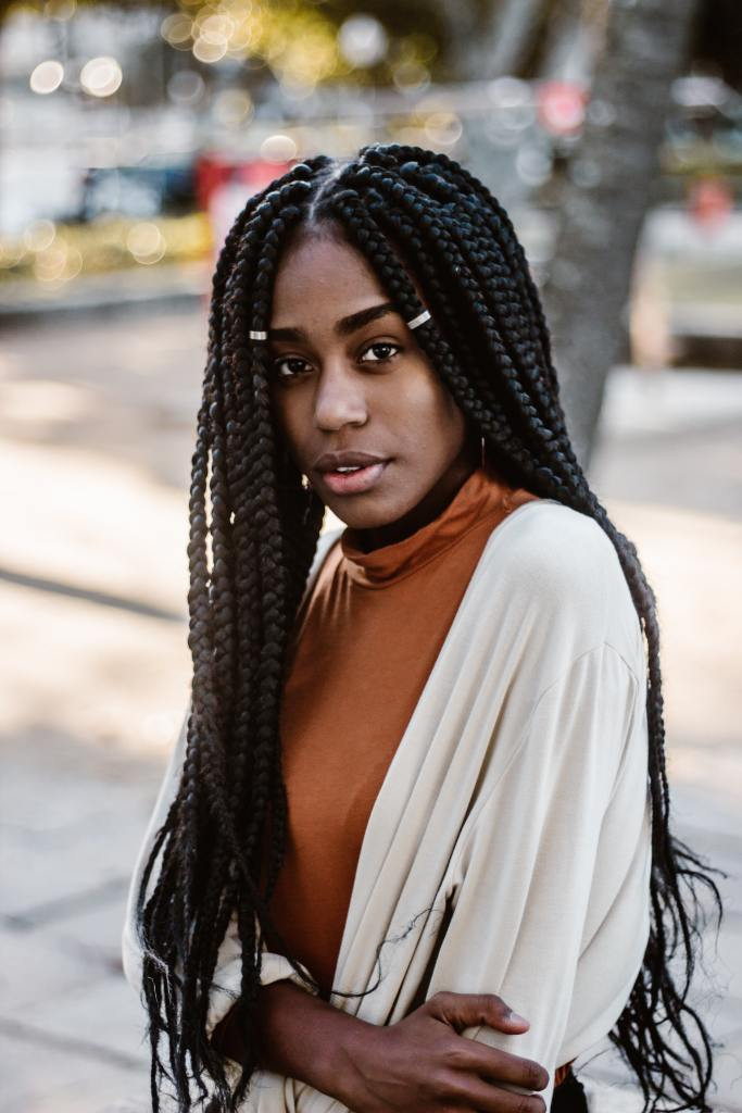 Long Box Braids Protective Style