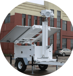 mobile video guard trailer