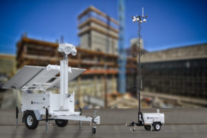 Mobile Security Surveillance Trailers