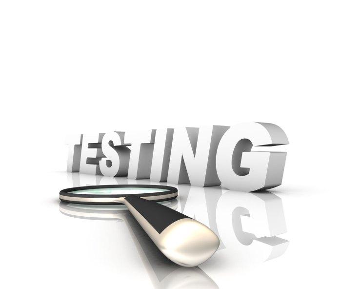 tesztelés