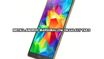 Update Galaxy Tab S SM-T800 to Android Marshmallow 6 0 1 (WiFi)