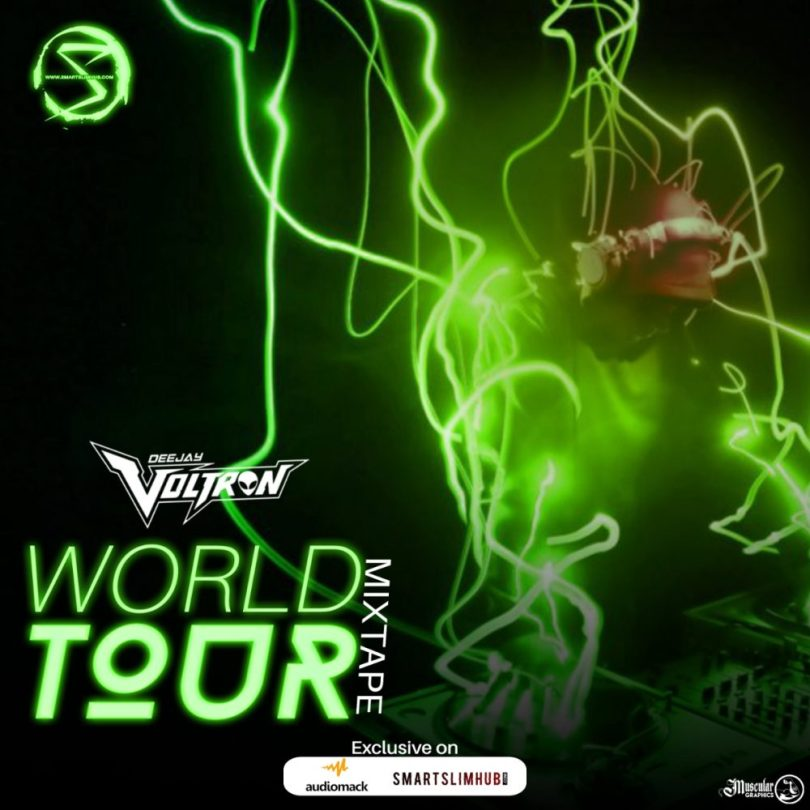 Smartslimhub Media x Deejay Voltron – World Tour Mixtape