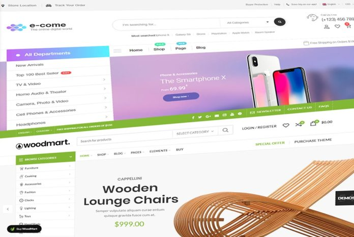 best wordpress woocommerce themes