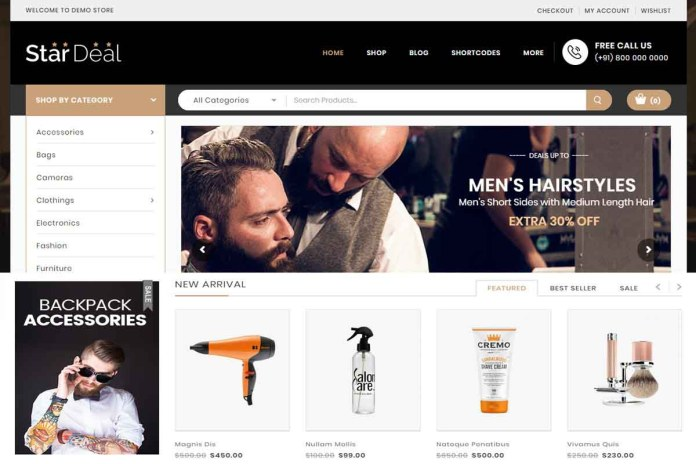 wordpress woocommerce themes responsive