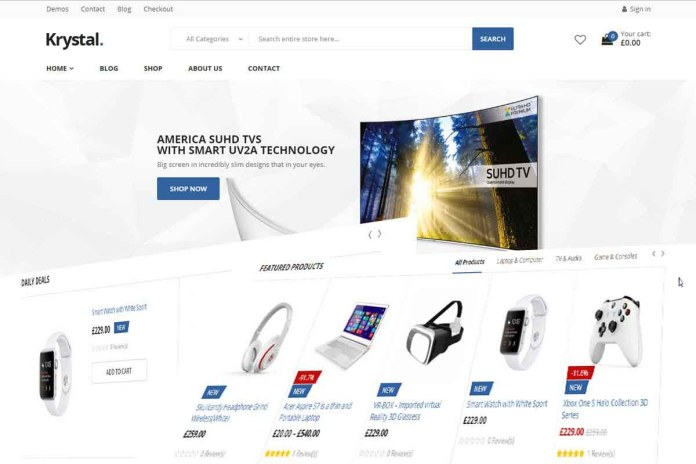 wordpress online shopping theme