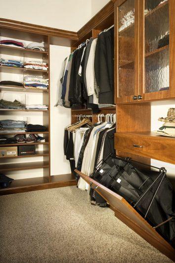 Closet Redesign Experts in Denver. Walk in closet, custom closet, small space experts, SmartSpaces.com