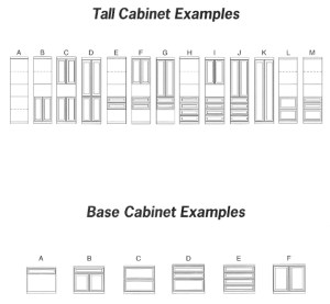 Tall Cabinet & Base Cabinet Murphy Bed Spec Sheets