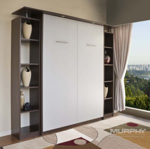 How to add a bed to a small space - Murphy Wall Beds - Smart Spaces - Closed Bed