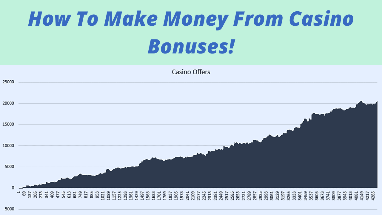 How To Make Money From Casino Bonuses